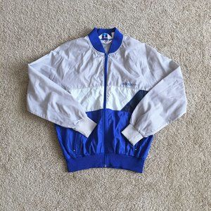 Adidas Men's Gray 70's Trefoil Jacket Size Medium